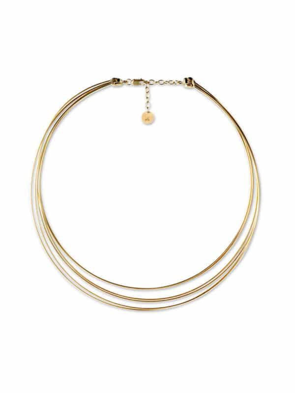 Wire Choker Necklace